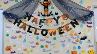 10月の小児待合室